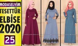 Modaselvim Elbise Modelleri 2020 [25] | Moda Selvim Yeni Sezon Tesettür Elbise Modelleri