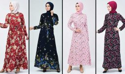 2020 Sefamerve Tesettür Elbise Modelleri 14 | Reformation Clothing