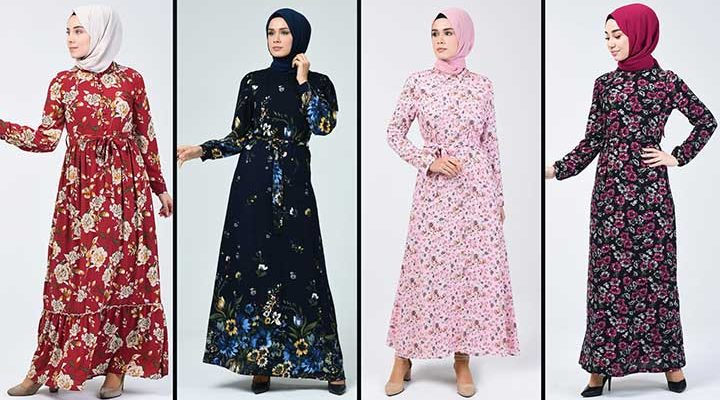 2020 Sefamerve Tesettür Elbise Modelleri 14   Reformation Clothing