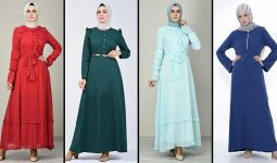 2020 Sefamerve Tesettür Elbise Modelleri 15 | Reformation Clothing