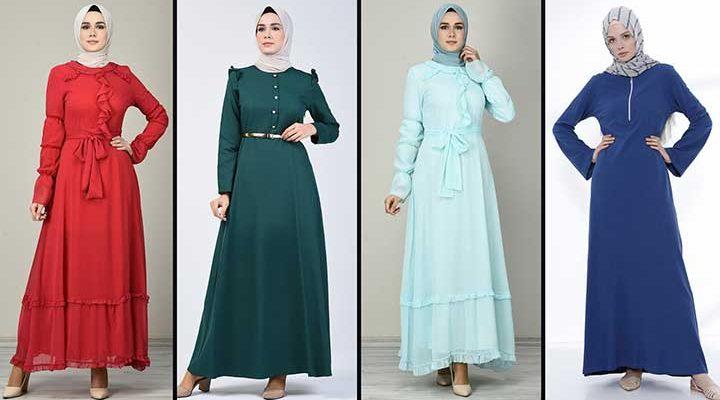 2020 Sefamerve Tesettür Elbise Modelleri 15   Reformation Clothing