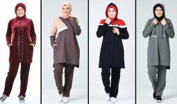 2020 Sefamerve Büyük Beden Tesettür Eşofman Modelleri 2 | Survêtement Hijab - Islamic Sportswear