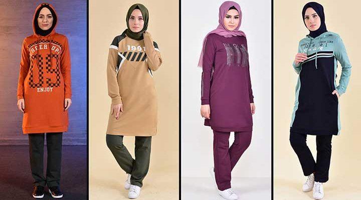 2020 Sefamerve Tesettür Eşofman Modelleri 2   Survêtement Hijab - Islamic Sportswear
