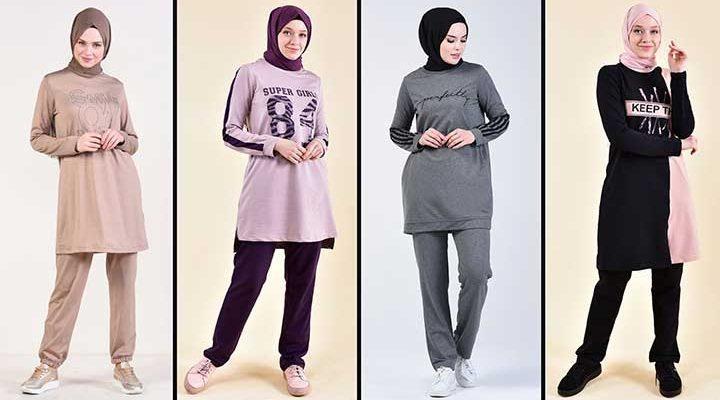 2020 Sefamerve Tesettür Eşofman Modelleri 3 | Survêtement Hijab - Islamic Sportswear
