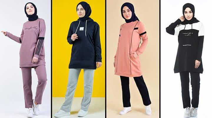 2020 Sefamerve Tesettür Eşofman Modelleri 4 | Survêtement Hijab - Islamic Sportswear