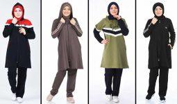 2020 Sefamerve Tesettür Eşofman Modelleri 5 | Survêtement Hijab - Islamic Sportswear