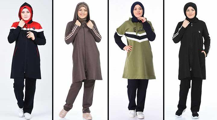 2020 Sefamerve Tesettür Eşofman Modelleri 5   Survêtement Hijab - Islamic Sportswear