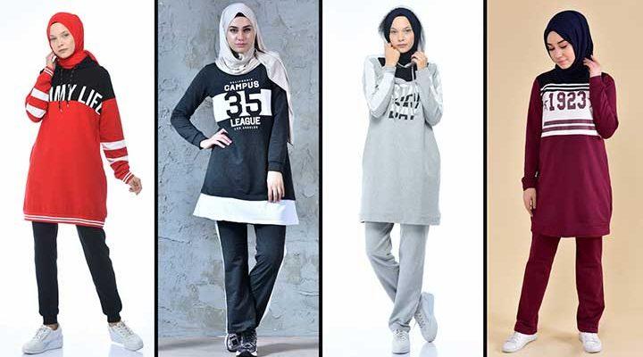 2020 Sefamerve Tesettür Eşofman Modelleri 1 | Survêtement Hijab - Islamic Sportswear