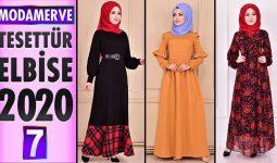 Modamerve Elbise Modelleri 2020 [ 7 ] | Moda Merve Yeni Sezon Tesettür Elbise Modelleri