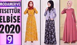 Modamerve Elbise Modelleri 2020 [ 9 ] | Moda Merve Yeni Sezon Tesettür Elbise Modelleri