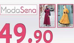 ModaSena 49,90 TL İndirimli Kampanya Tesettür Elbiseler 2 [Haziran 2020] | Moda Sena 49,90 Elbise
