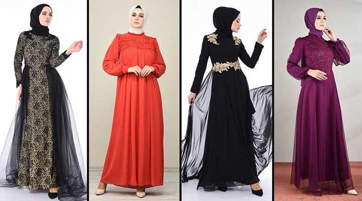 [2020] Sefamerve Tesettür Abiye Elbise Modelleri 11/30 | Abendkleid - Evening Dress