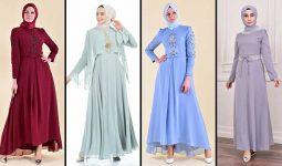 [2020] Sefamerve Tesettür Abiye Elbise Modelleri 13/30 | Abendkleid - Evening Dress