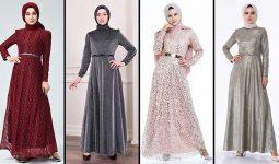 [2020] Sefamerve Tesettür Abiye Elbise Modelleri 15/30 | Abendkleid - Evening Dress