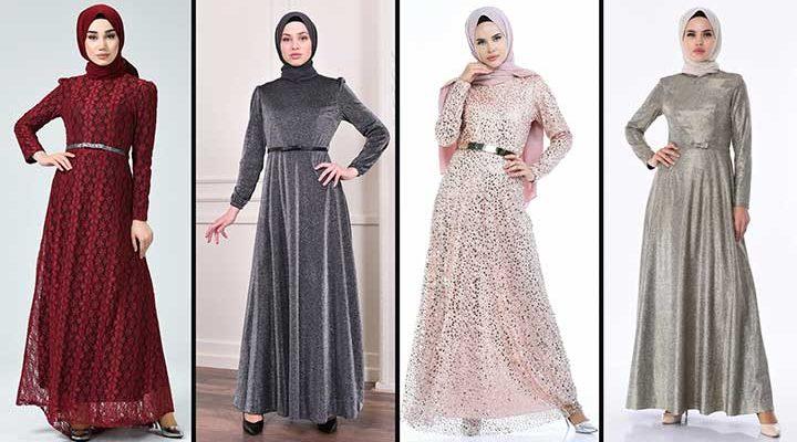 [2020] Sefamerve Tesettür Abiye Elbise Modelleri 15/30   Abendkleid - Evening Dress