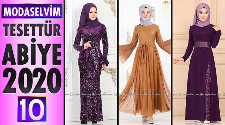 Modaselvim Abiye 2020 [10]   Modaselvim Tesettür Abiye Elbise Modelleri   Abendkleid - Evening Dress