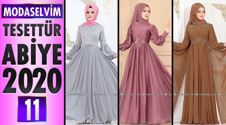 Modaselvim Abiye 2020 [11] | Modaselvim Tesettür Abiye Elbise Modelleri | Abendkleid - Evening Dress