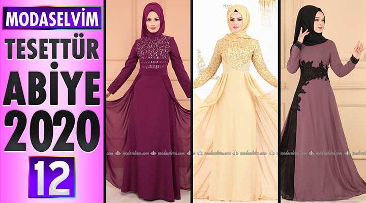 Modaselvim Abiye 2020 [12]   Modaselvim Tesettür Abiye Elbise Modelleri   Abendkleid - Evening Dress