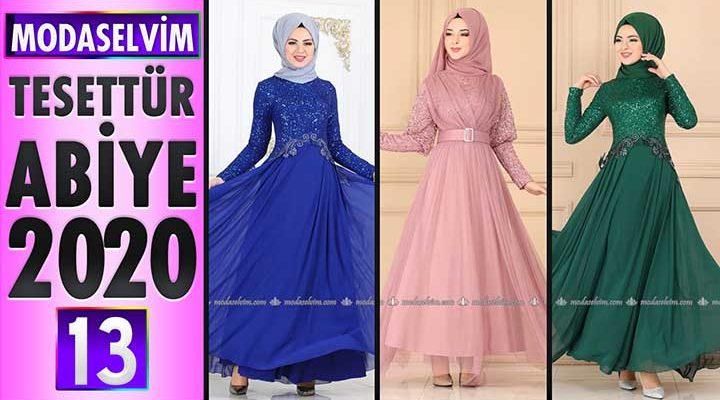 Modaselvim Abiye 2020 [12] | Modaselvim Tesettür Abiye Elbise Modelleri | Abendkleid - Evening Dress