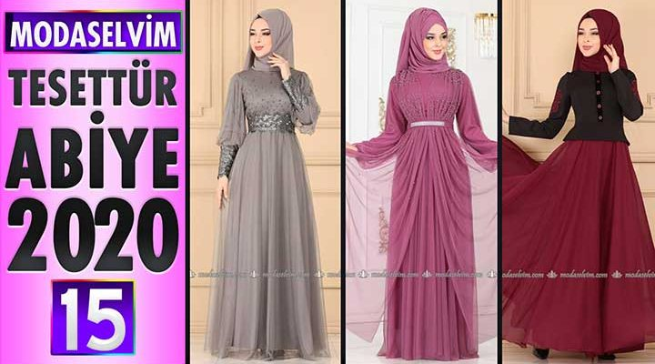 Modaselvim Abiye 2020 [15] | Modaselvim Tesettür Abiye Elbise Modelleri | Abendkleid - Evening Dress