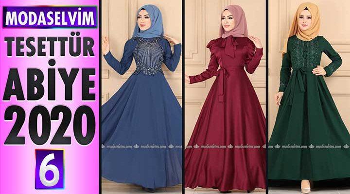 Modaselvim Abiye 2020 [6] | Modaselvim Tesettür Abiye Elbise Modelleri | Abendkleid - Evening Dress