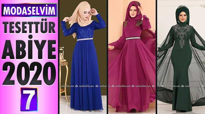 Modaselvim Abiye 2020 [7] | Modaselvim Tesettür Abiye Elbise Modelleri | Abendkleid - Evening Dress