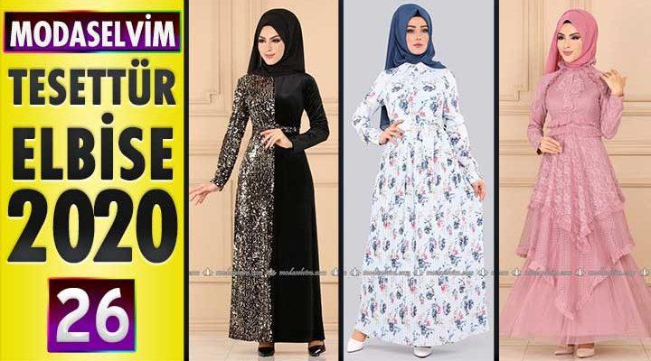 Modaselvim Elbise Modelleri 2020 [ 26 ] | Moda Selvim Yeni Sezon Tesettür Elbise Modelleri