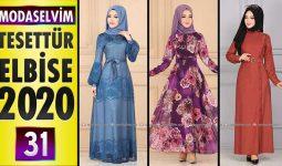 Modaselvim Elbise Modelleri 2020 [ 31 ] | Moda Selvim Yeni Sezon Tesettür Elbise Modelleri
