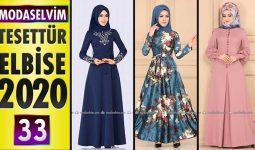 Modaselvim Elbise Modelleri 2020 [ 33 ] | Moda Selvim Yeni Sezon Tesettür Elbise Modelleri