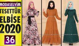 Modaselvim Elbise Modelleri 2020 [36] | Moda Selvim Yeni Sezon Tesettür Elbise Modelleri