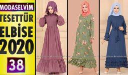 Modaselvim Elbise Modelleri 2020 [38] | Moda Selvim Yeni Sezon Tesettür Elbise Modelleri