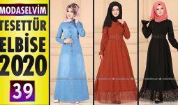 Modaselvim Elbise Modelleri 2020 [39] | Moda Selvim Yeni Sezon Tesettür Elbise Modelleri