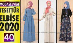 Modaselvim Elbise Modelleri 2020 [40] | Moda Selvim Yeni Sezon Tesettür Elbise Modelleri