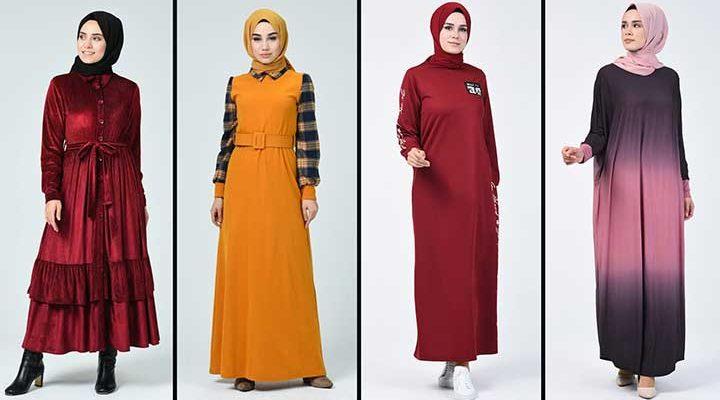 2020 Sefamerve Tesettür Elbise Modelleri 18   Reformation Clothing