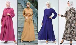 2020 Sefamerve Tesettür Elbise Modelleri 20 | Reformation Clothing