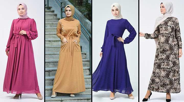 2020 Sefamerve Tesettür Elbise Modelleri 20   Reformation Clothing