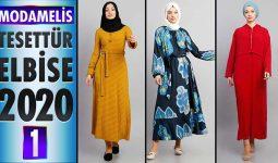 ModaMelis Elbise Modelleri 2020 [ 1 ] | Yeni Sezon Trend Tesettür Elbise Modelleri