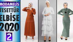 ModaMelis Elbise Modelleri 2020 [ 2 ] | Yeni Sezon Trend Tesettür Elbise Modelleri