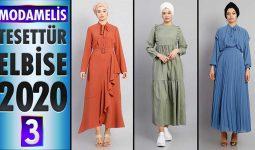 ModaMelis Elbise Modelleri 2020 [ 3 ] | Yeni Sezon Trend Tesettür Elbise Modelleri