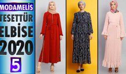 ModaMelis Elbise Modelleri 2020 [ 5 ] | Yeni Sezon Trend Tesettür Elbise Modelleri
