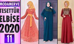 Modamerve Elbise Modelleri 2020 [ 11 ] | ModaMerve Yeni Sezon Tesettür Elbise Modelleri