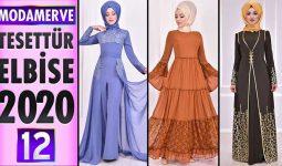 Modamerve Elbise Modelleri 2020 [ 12 ] | ModaMerve Yeni Sezon Tesettür Elbise Modelleri