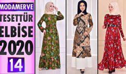 Modamerve Elbise Modelleri 2020 [ 14 ] | ModaMerve Yeni Sezon Tesettür Elbise Modelleri
