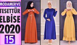 Modamerve Elbise Modelleri 2020 [ 15 ] | ModaMerve Yeni Sezon Tesettür Elbise Modelleri