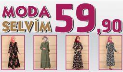 Modaselvim 59,90 Elbise Modelleri [ 1 ] Temmuz 2020 | Modaselvim İndirimli Tesettür Elbiseler
