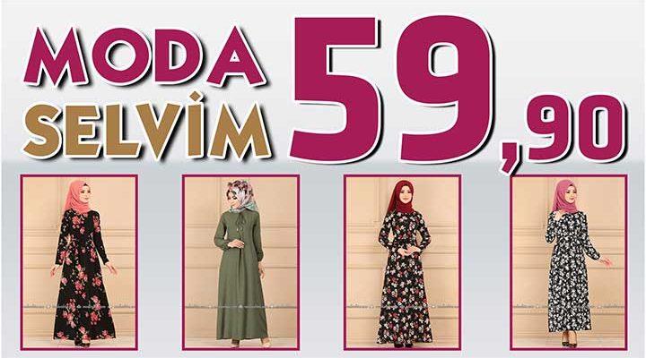 Modaselvim 59,90 Elbise Modelleri [ 1 ] Temmuz 2020   Modaselvim İndirimli Tesettür Elbiseler