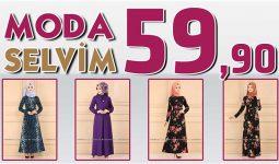 Modaselvim 59,90 Elbise Modelleri [ 2 ] Temmuz 2020 | Modaselvim İndirimli Tesettür Elbiseler