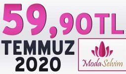 ModaSelvim 59,90 TL İndirim Kampanya Tesettür Ürünler 1 [ 2020 Temmuz] | Moda Selvim 59,90 Elbise