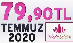 ModaSelvim 79,90 TL İndirim Kampanya Tesettür Ürünler 1 [ 2020 Temmuz] | Moda Selvim 79,90 Elbise