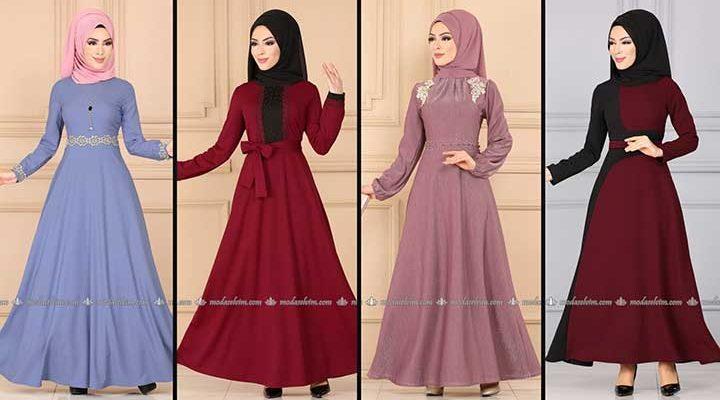 Modaselvim Büyük Beden Elbise Modelleri 10 [ 2020 Yaz ]   Tesettür Elbise - Plus Size Dresses